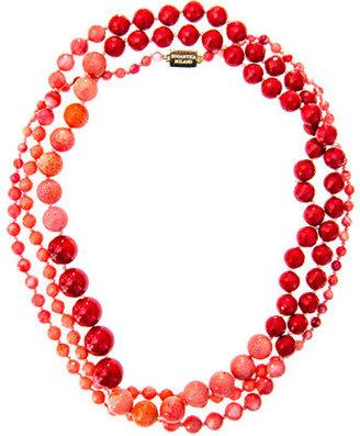 Rosantica Arianna coral necklace