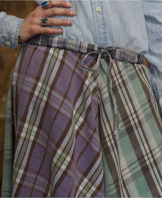 Denim & Supply Ralph Lauren Skirt, Handkerchief Plaid Skirt