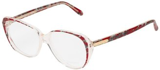 Yves Saint Laurent Pre Owned Marble Effect Sunglasses