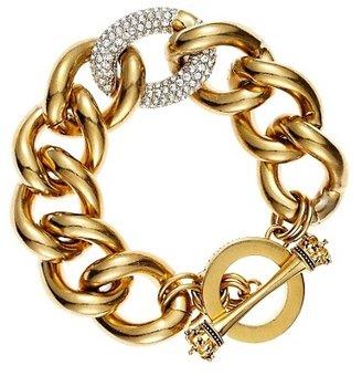 Juicy Couture Pave Link Bracelet