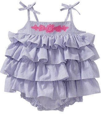 Old Navy Tiered-Ruffle Bubble Rompers for Baby