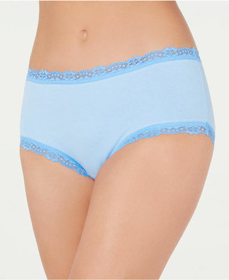 Jenni Cotton Lace Trim Hipster Underwear
