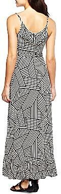 JCPenney a.n.a.® Ruffle Wrap Maxi Dress - Petite