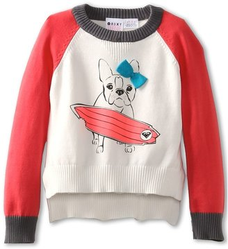 Roxy Kids - Hear It Loud Sweater (Toddler/Little Kids) (Egret) - Apparel