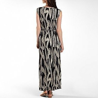JCPenney Worthington® Maxi Dress with Gold Shoulder Trim