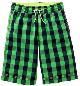Gap Gingham swim trunks