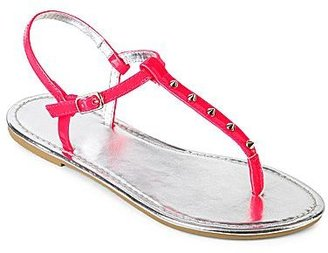 JCPenney Studded T-Strap Sandals