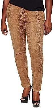 JCPenney a.n.a® Printed Skinny Jeans - Plus