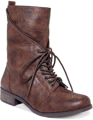 XOXO Mani Combat Boots