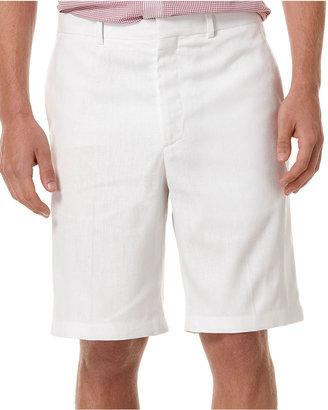 Perry Ellis Shorts, Linen-Blend Shorts