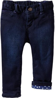 Old Navy Jersey-Lined Skinny Jeans for Baby