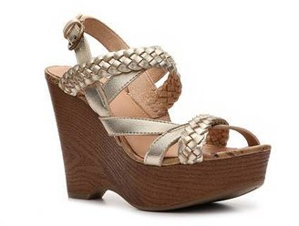 Kensie Mix No. 6 Wedge Sandal