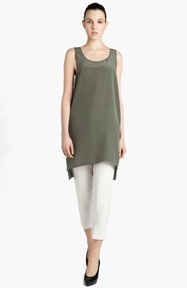 MSGM Silk Tunic Dress