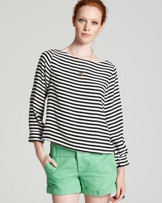 Alice + Olivia Top - Curtis Rolled Sleeve