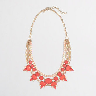 J.Crew Factory Factory multistrand stone and thorn necklace