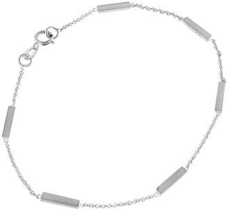Jennifer Meyer Bar Bracelet - White Gold