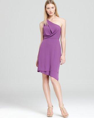 BCBGMAXAZRIA One Shoulder Dress - Draped