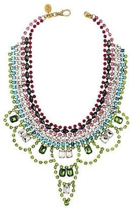 Juicy Couture Multi Rhinestone Drama Necklace
