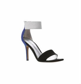 LOFT Alissa Colorblocked Ankle Strap Heels