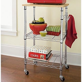 JCPenney Cooks Kitchen Microwave Cart