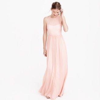 Megan long dress in silk chiffon $298 thestylecure.com