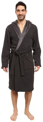 UGG Brunswick Robe (Black Bear Heather) Men's Robe