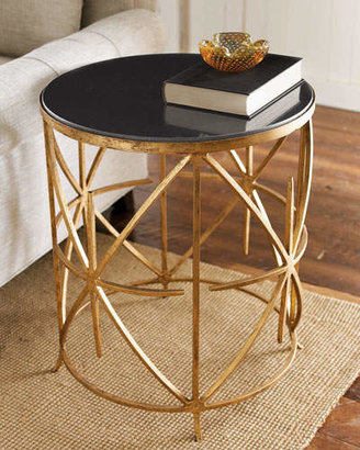Lara Granite Side Table