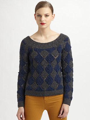 Marc by Marc Jacobs Tamara Argyle Sweater