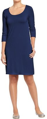 Old Navy Women's 3/4-Sleeve Jersey Dresses