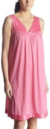 Vanity Fair Women's Plus Size Coloratura Sleepwear Short Gown 30807 $32 thestylecure.com