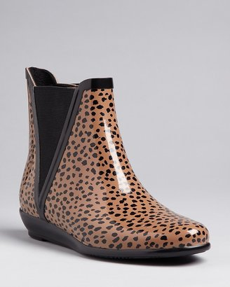 Loeffler Randall Rain Boots - Slip On Bootie