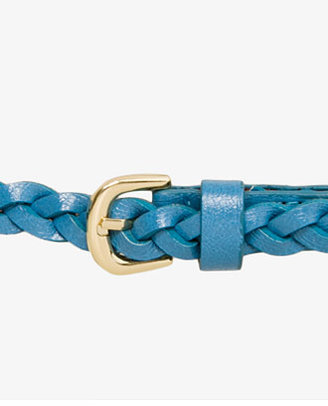 Forever 21 Braided Faux Leather Belt