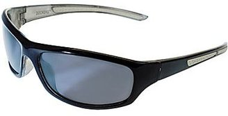 Dockers Polarized Black Oval Sport Sunglasses