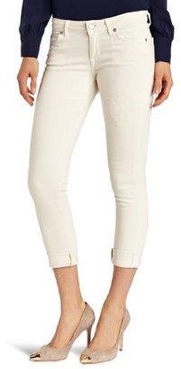 Rich & Skinny Jean Women's Ankle Roll Crop Jean in Vale