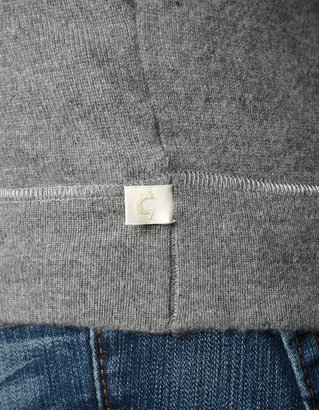 True Religion Short Silk Sleeve Cashmere Womens Top