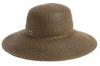 Women's Eric Javits 'Hampton' Straw Sun Hat - Brown $198 thestylecure.com