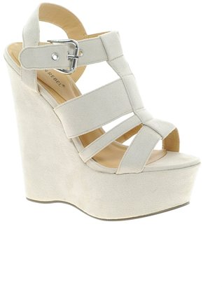 London Rebel Wedge With Chunky Straps