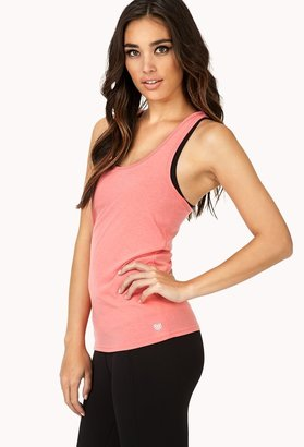 Forever 21 Active Racerback Workout Tank