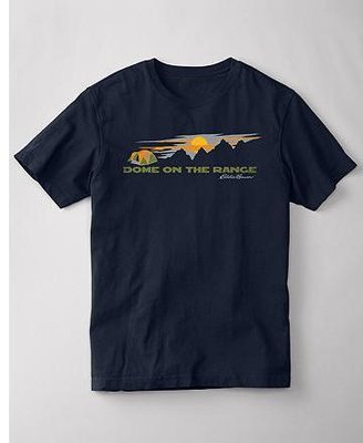 Eddie Bauer Classic Fit Graphic T-Shirt - Dome On The Range
