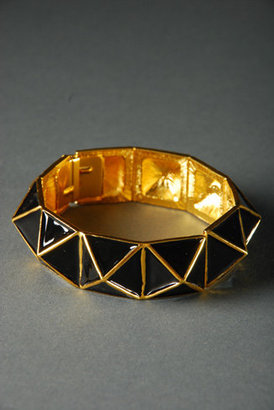 Kenneth Jay Lane Pyramid Bracelet