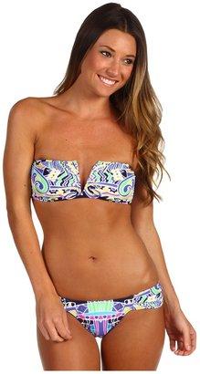 Mara Hoffman Carnival V-Wire Bikini (Carnival Navy) - Apparel