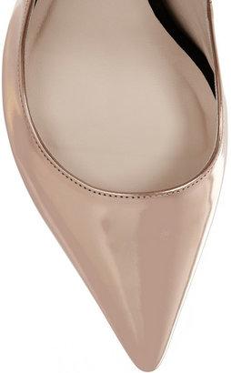 Webster Sophia Lola mirrored-leather pumps