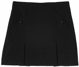 Trutex Girl's Junior Twin Kick Pleat Skirt