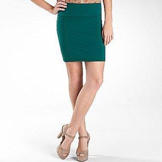JCPenney Decree® Teal Slim-Fitting Skirt
