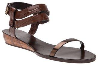 Lanvin Strap Leather Sandal