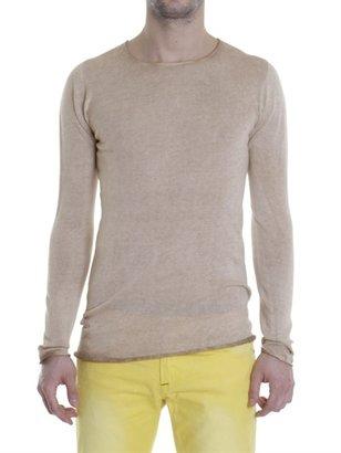 Xagon Man Cotton Garment Dyed Knitwear