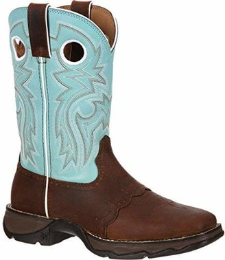 Durango Women's Flirt With 10 inches Saddle Western Shoe