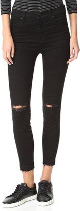 J Brand High Rise Alana Crop Jeans $218 thestylecure.com