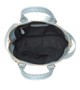 Balenciaga Giant 12 leather bowling bag
