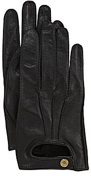 Dillard ́s Leather Driving Gloves with Touch Screen Technology